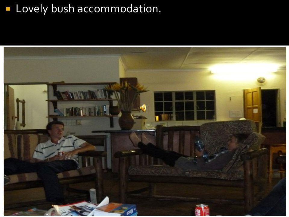  Lovely bush accommodation.