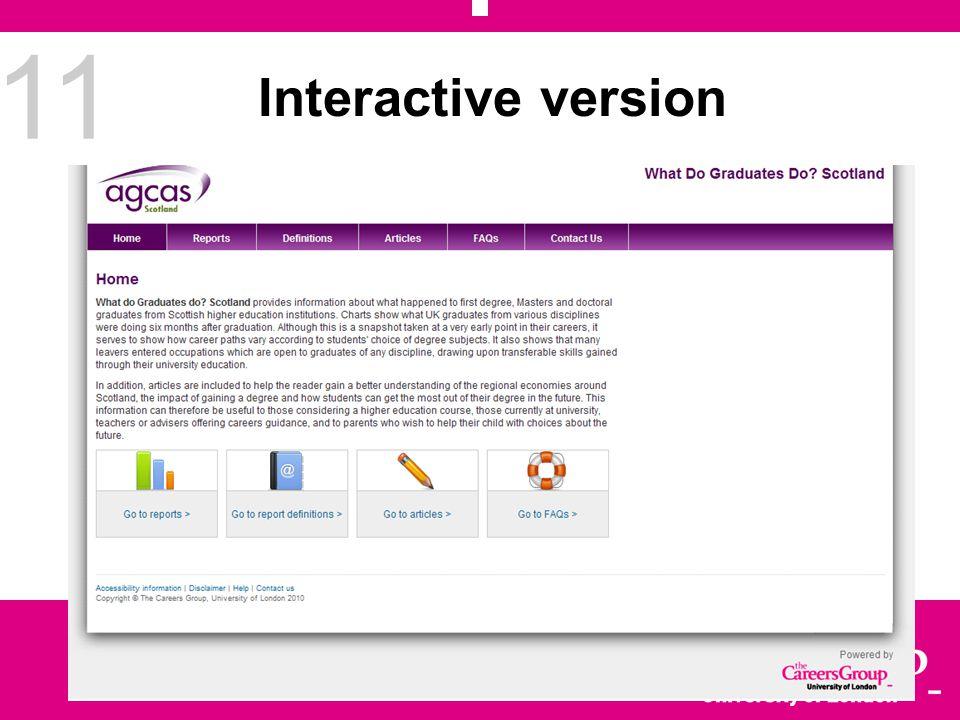 11 Interactive version