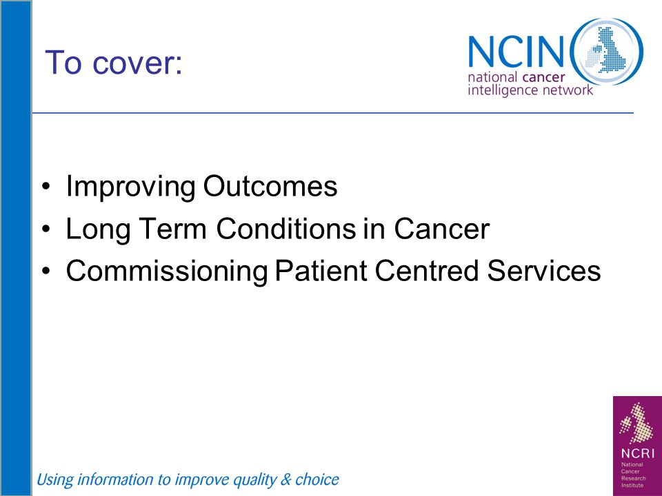 The Cancer Commissioning Toolkit (CCT)