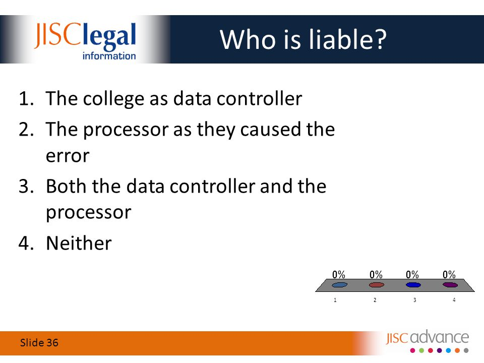 Slide 36 Who is liable.