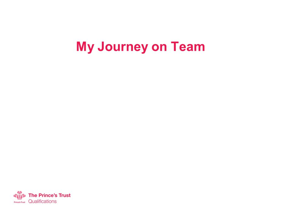 My Journey on Team