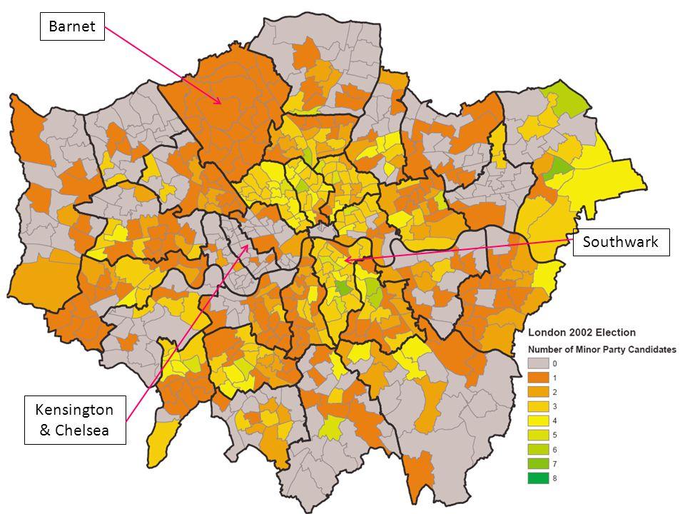 The Million Dollar Question III Barnet Southwark Kensington & Chelsea