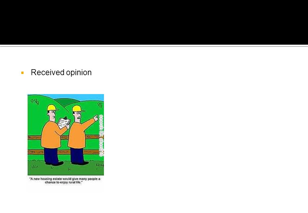  Received opinion