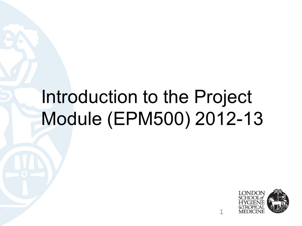 Stage 3 - Research & Writing The majority of your project work will take place between June and September 2013 Further details about this stage, and the requirements for the content and structure of the final report, and how your report will be assessed, are provided in the Student Project Guidelines for 2012-13, available from the Projects website from Oct 2012 http://dl.lshtm.ac.uk/programme/student/ep/student/projects.htm http://dl.lshtm.ac.uk/programme/student/ep/student/projects.htm 32