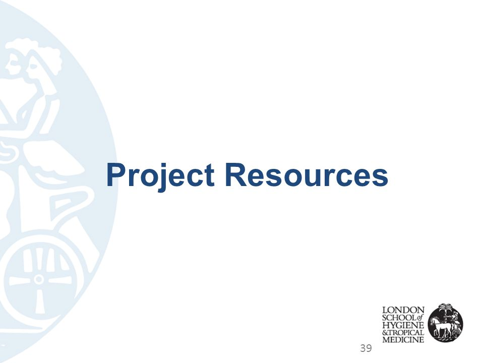 Project Resources 39