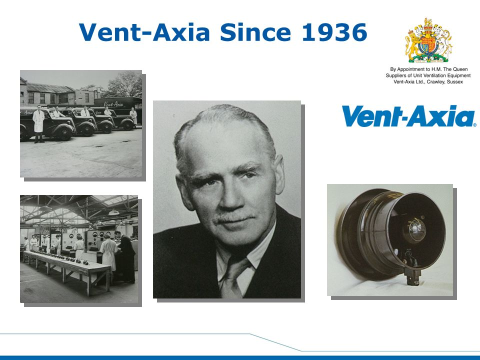 Vent-Axia Since 1936