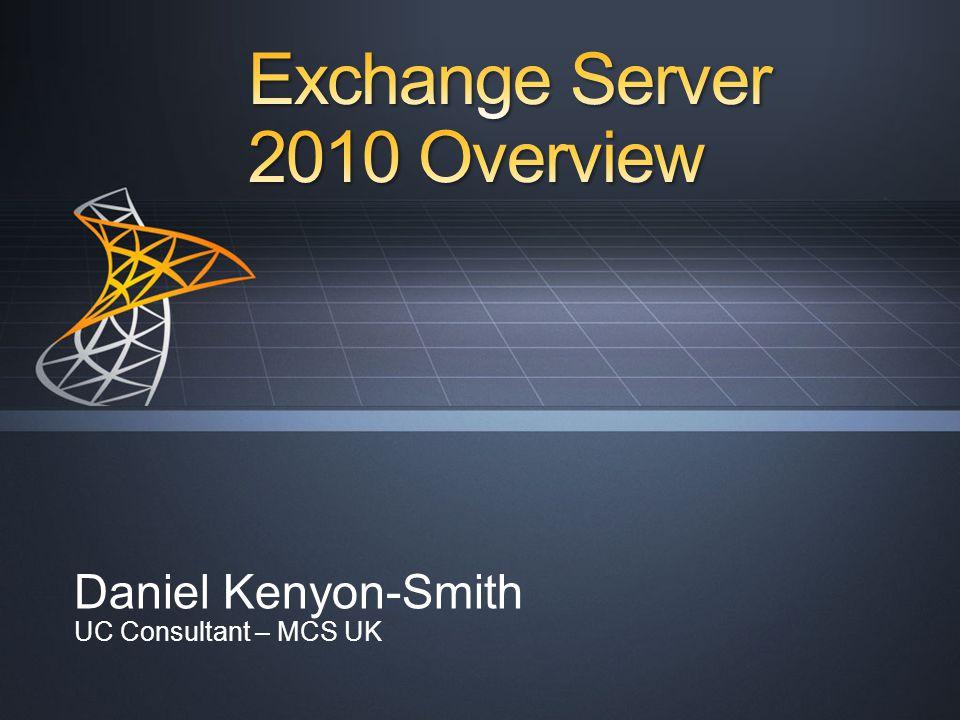 Daniel Kenyon-Smith UC Consultant – MCS UK