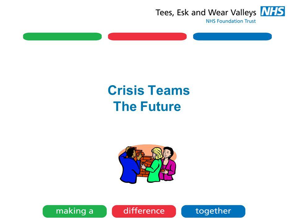 Crisis Teams The Future