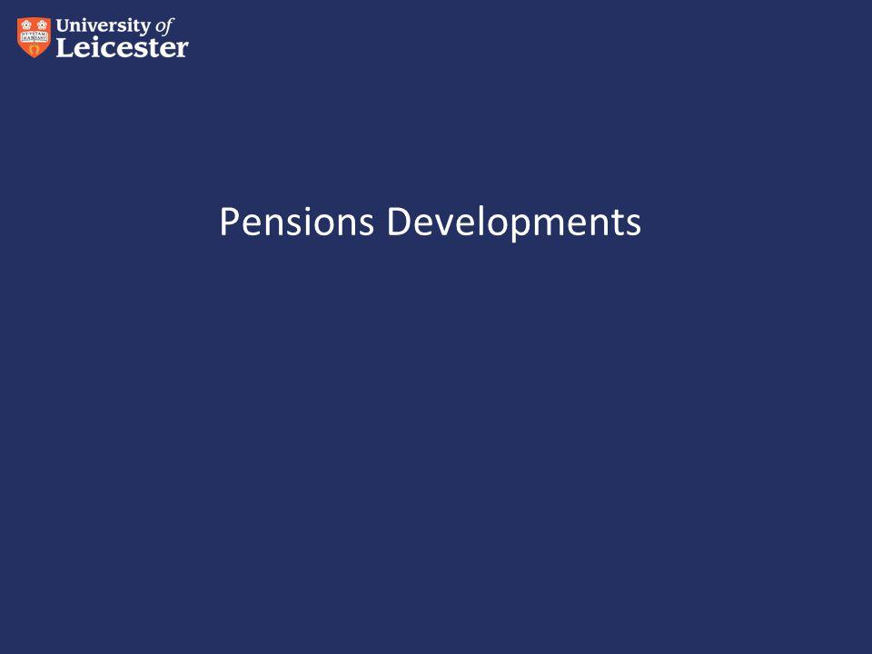 Pensions Developments