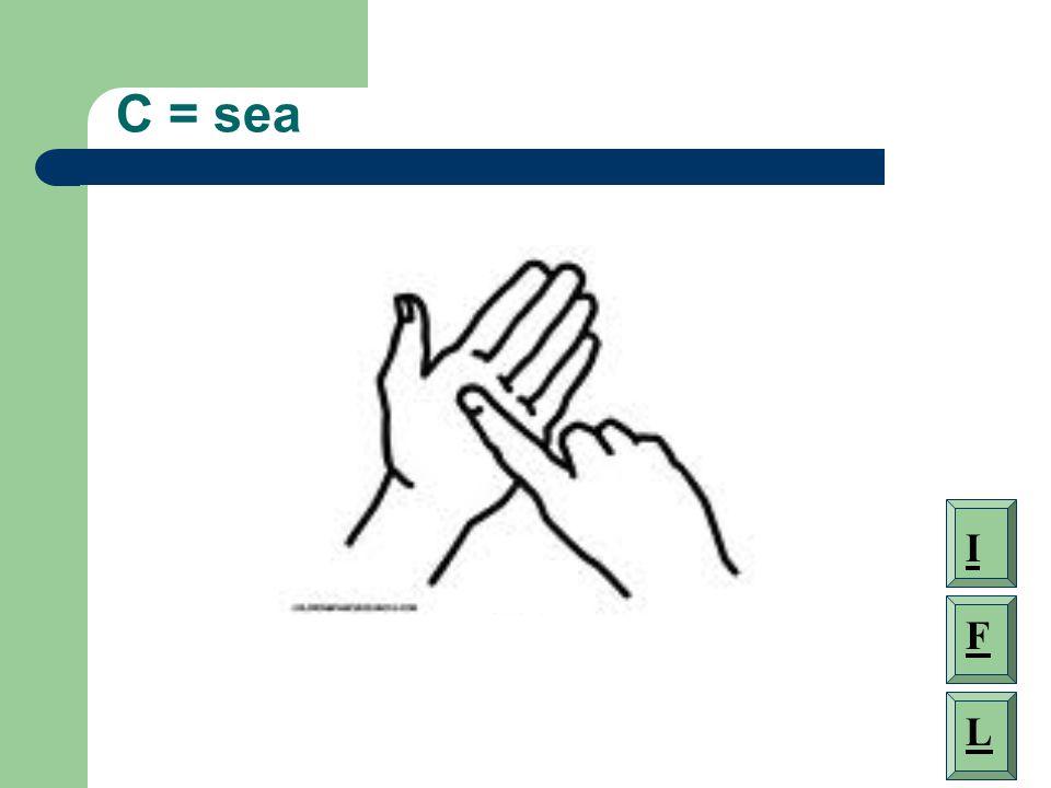 C = sea I F L