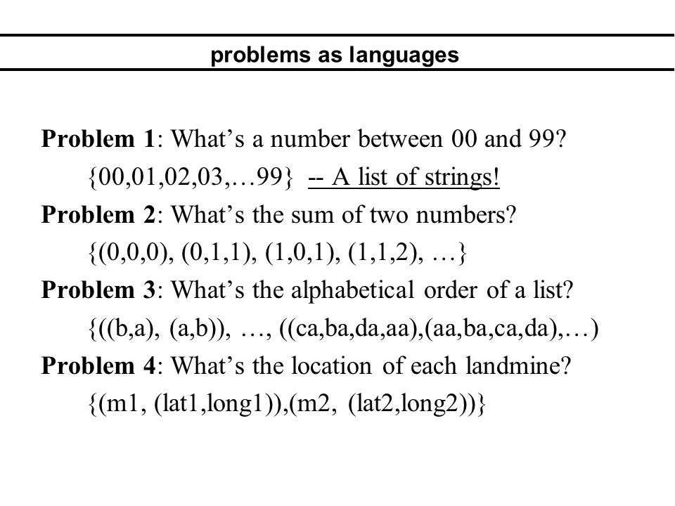 2.Formal Logic Proving things about programs.