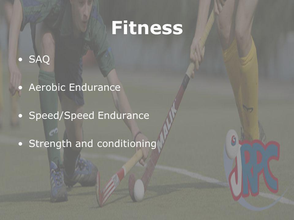 Fitness SAQ Aerobic Endurance Speed/Speed Endurance Strength and conditioning