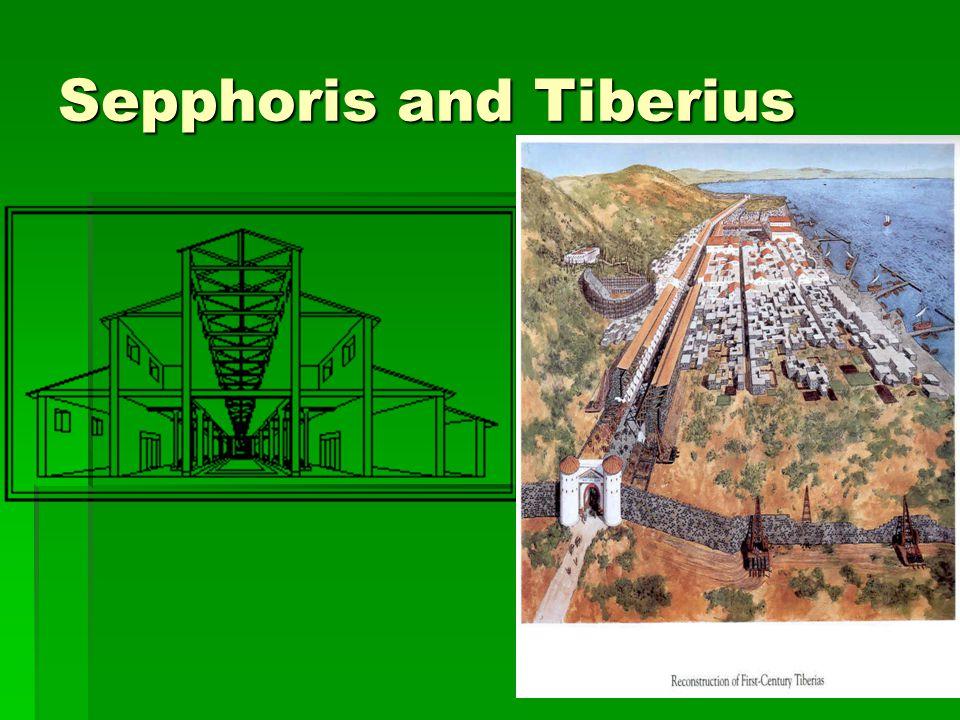 Sepphoris and Tiberius