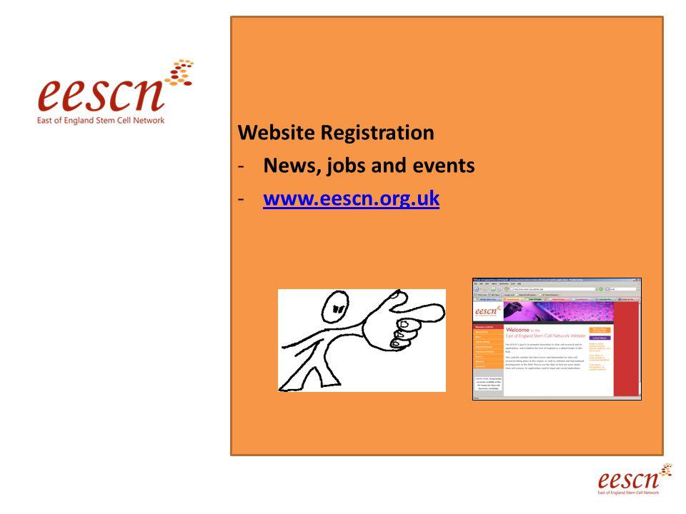 Website Registration -News, jobs and events -www.eescn.org.ukwww.eescn.org.uk