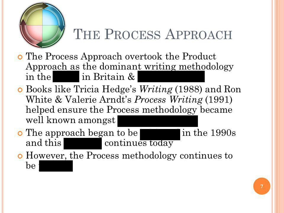 T HE C OGNITIVISTS & THE P ROCESS A PPROACH The cognitivist Process Approach researchers (e.g.