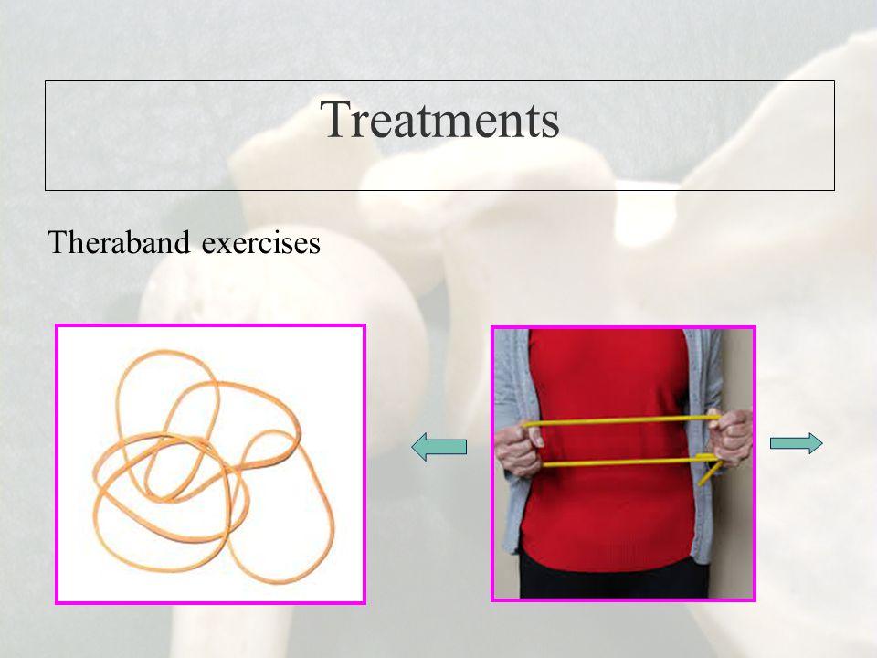Treatments Theraband exercises