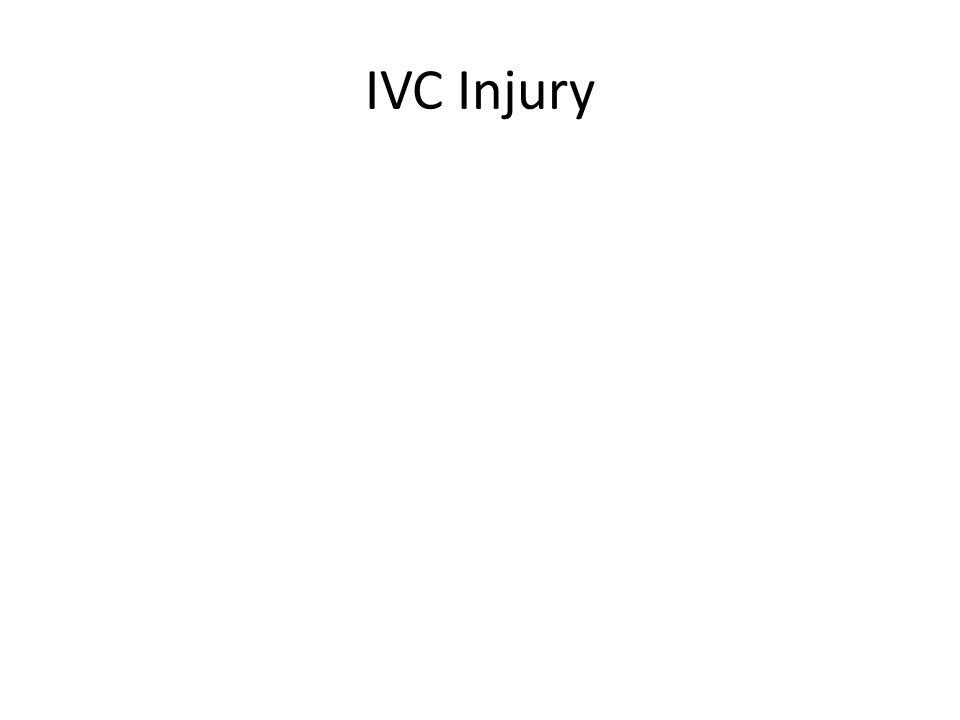 IVC Injury