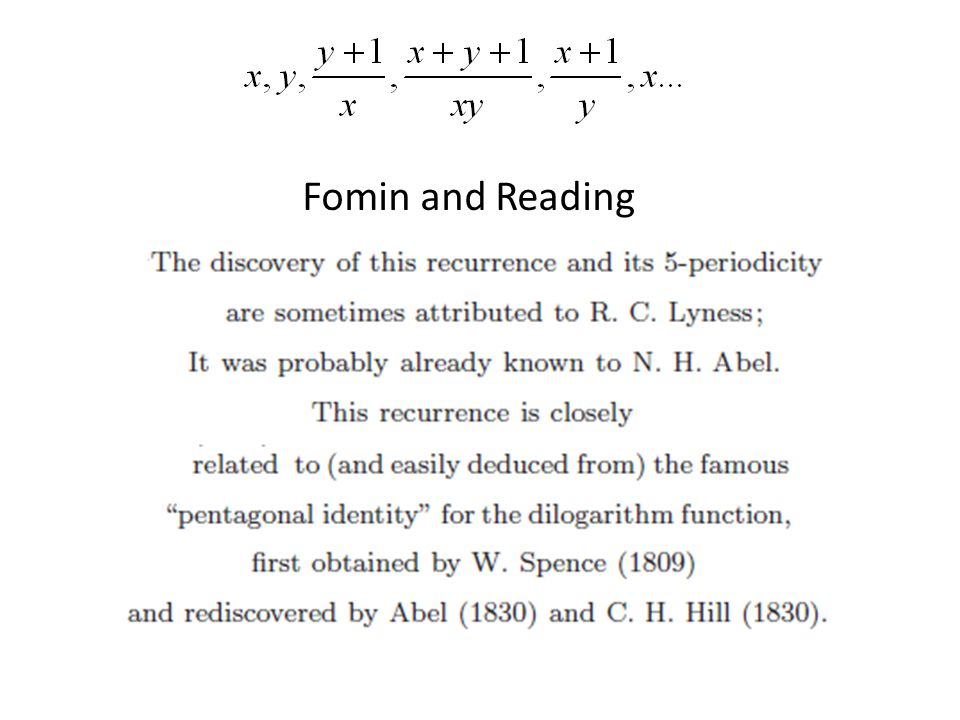 Fomin and Reading