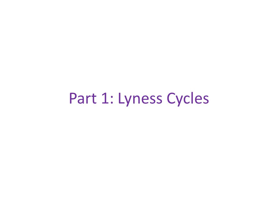 Part 1: Lyness Cycles