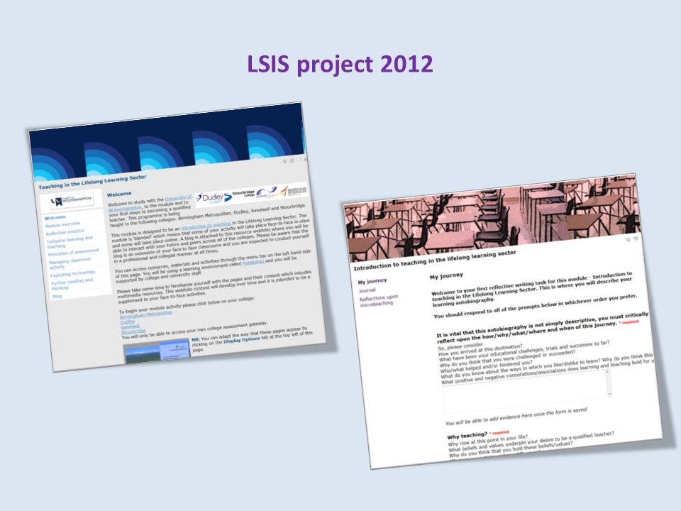 LSIS project 2012