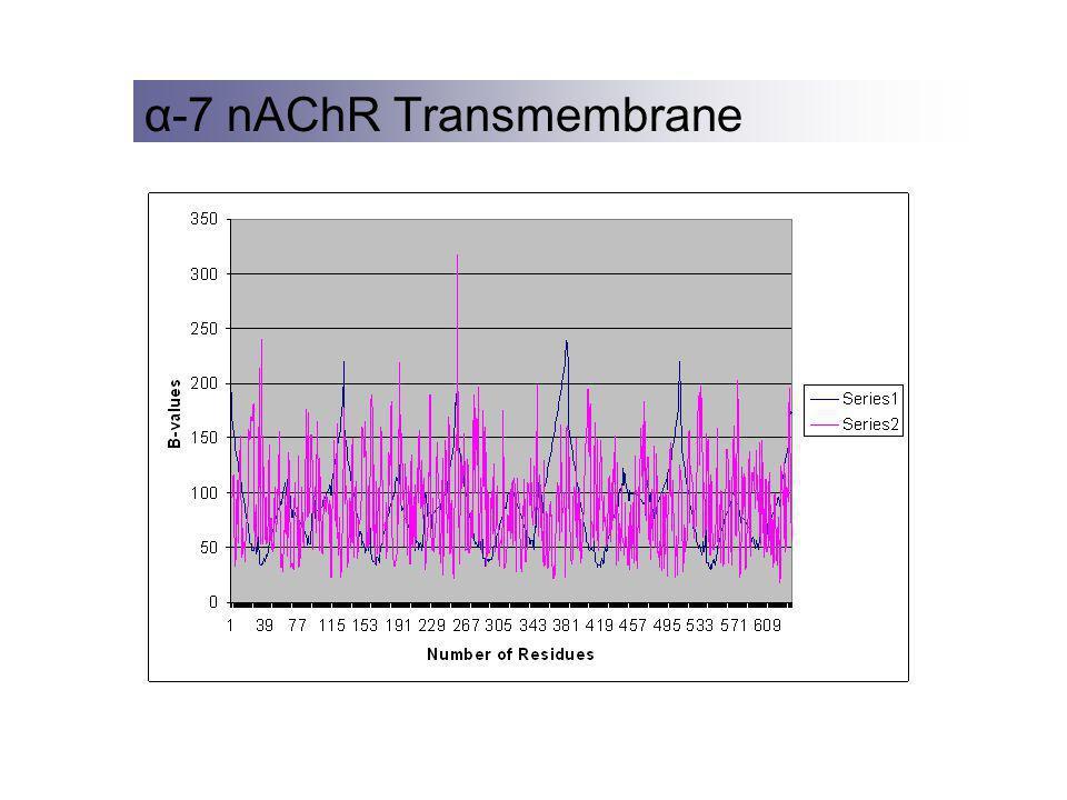 α-7 nAChR Transmembrane