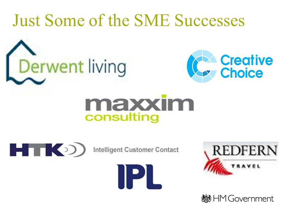 Just Some of the SME Successes