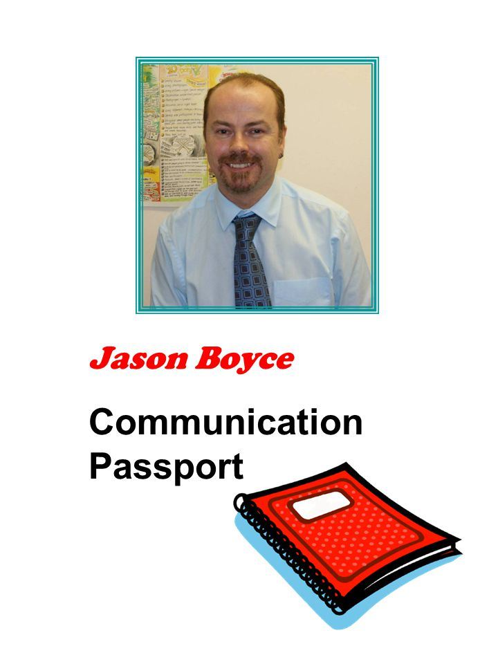 Jason Boyce Communication Passport