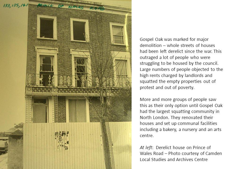 Gospel Oak Grove Photo courtesy of Camden Local Studies and Archives Centre