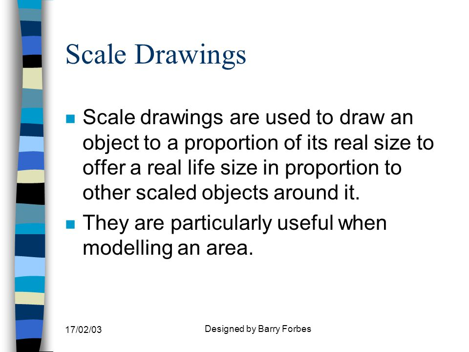Graphic Communication Drawings Forbes Scale Drawings n