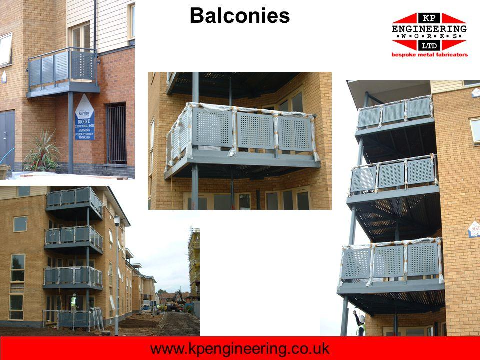Balconies www.kpengineering.co.uk