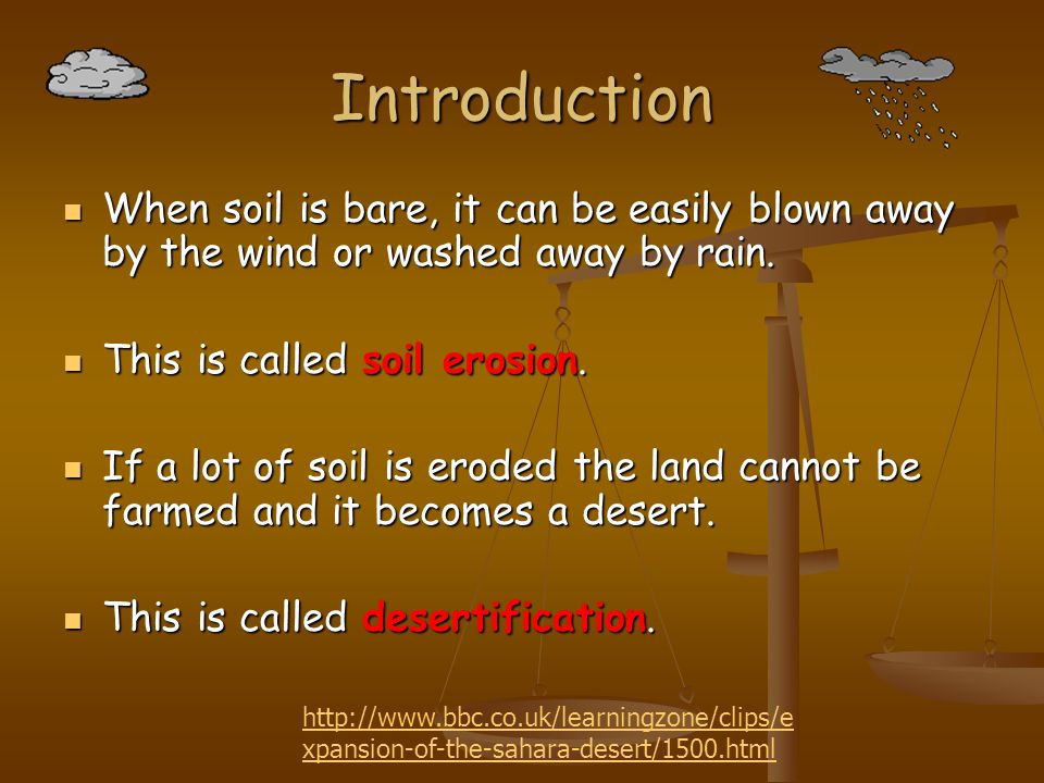 Deforestation (2) The dung and crop residues would normally be used as fertiliser so the soil is further degraded as it is deprived of essential nutrients.