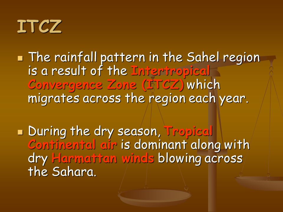 Desertification Physical Although the Sahel should get 100- 500mm of rain each year, the rainfall is very unreliable.