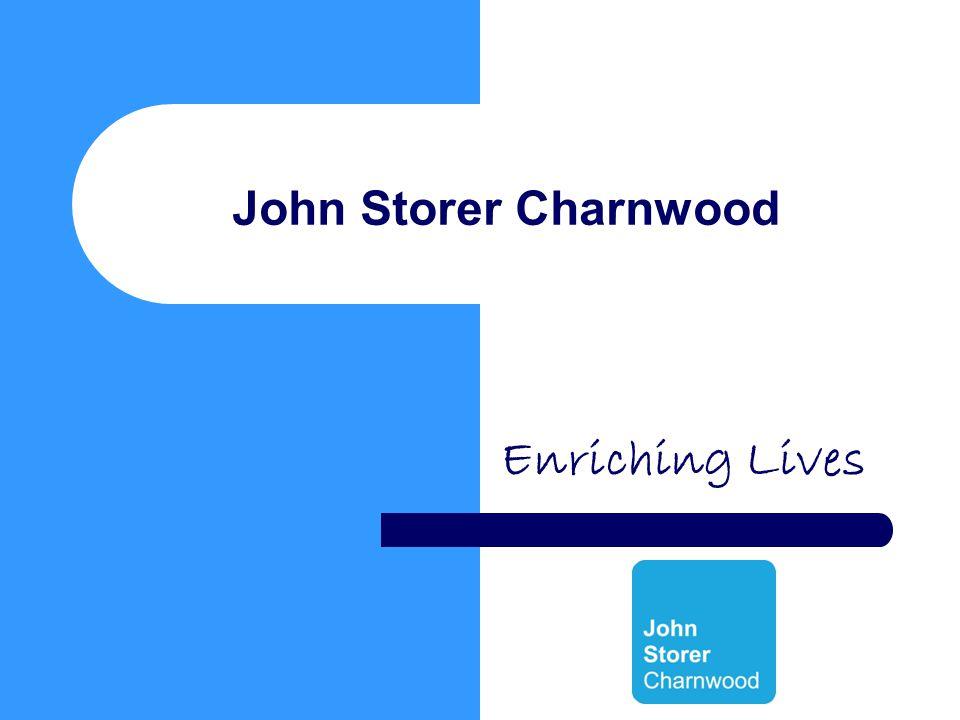 John Storer Charnwood Enriching Lives