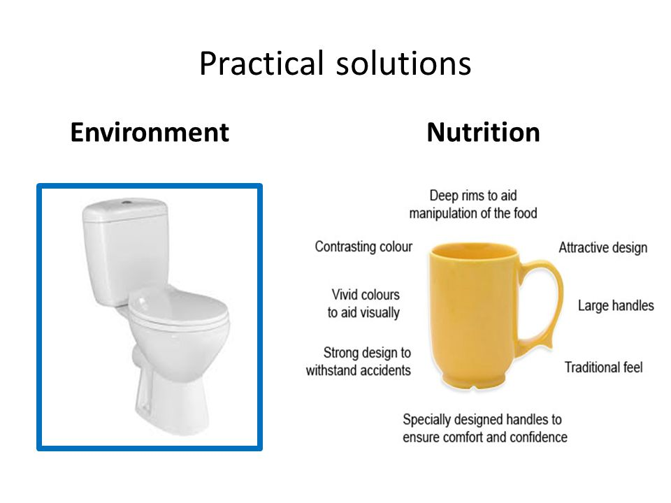 Practical solutions NutritionEnvironment
