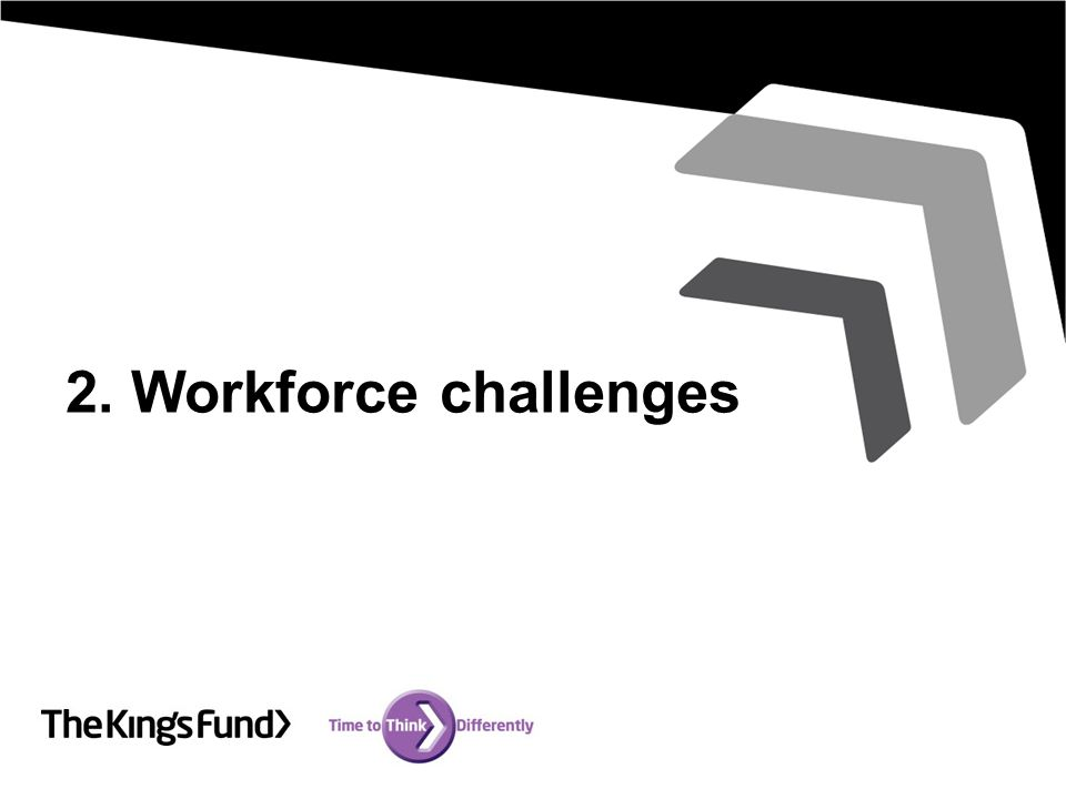 2. Workforce challenges