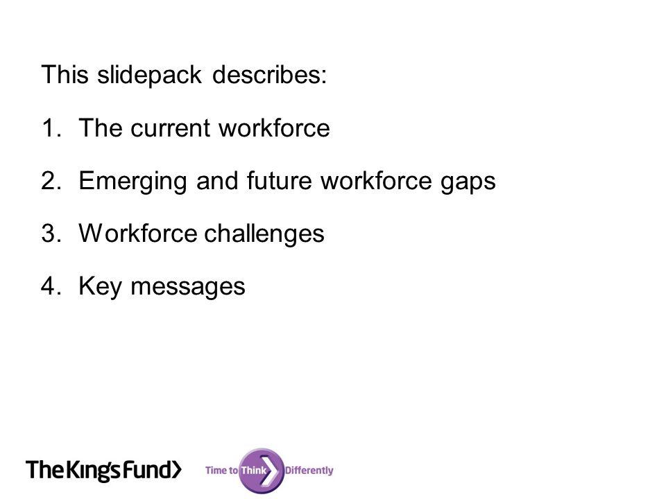 1. Current workforce