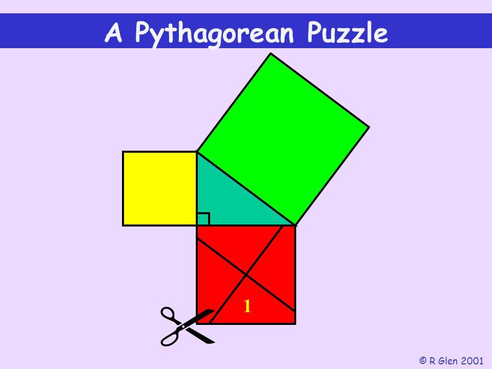A Pythagorean Puzzle © R Glen 2001