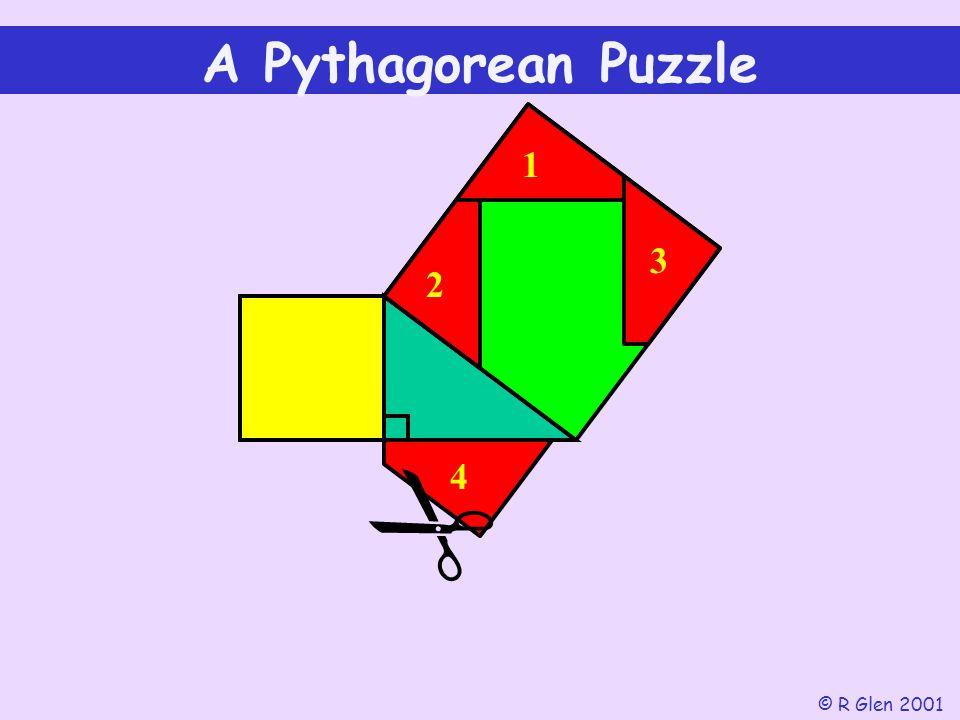 1 2 3  A Pythagorean Puzzle © R Glen 2001