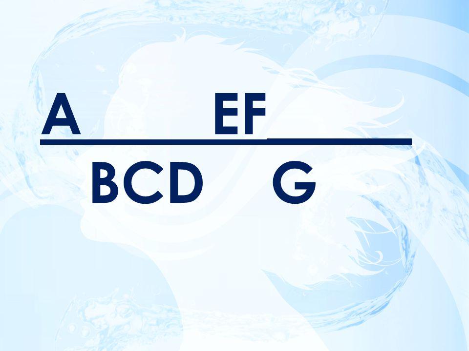 A EF_____ BCD G