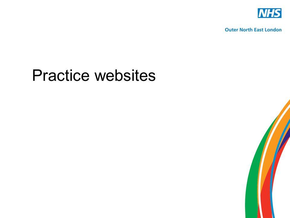 Practice websites