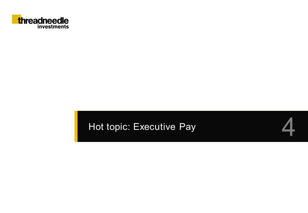Hot topic: Executive Pay 4