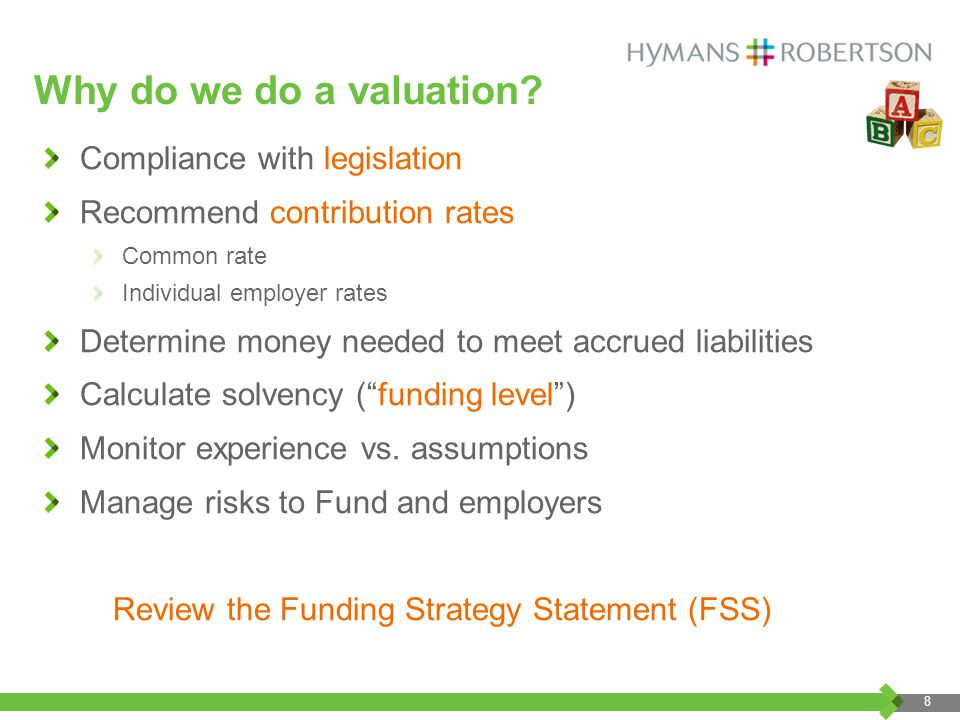 Why do we do a valuation.