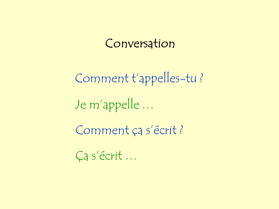 Les accents Ç çun cédille éun accent aigu à è ùun accent grave â ê î ô ûun circonflexe ä ë ï ö üun tréma NB Accents are centred under or over the appr