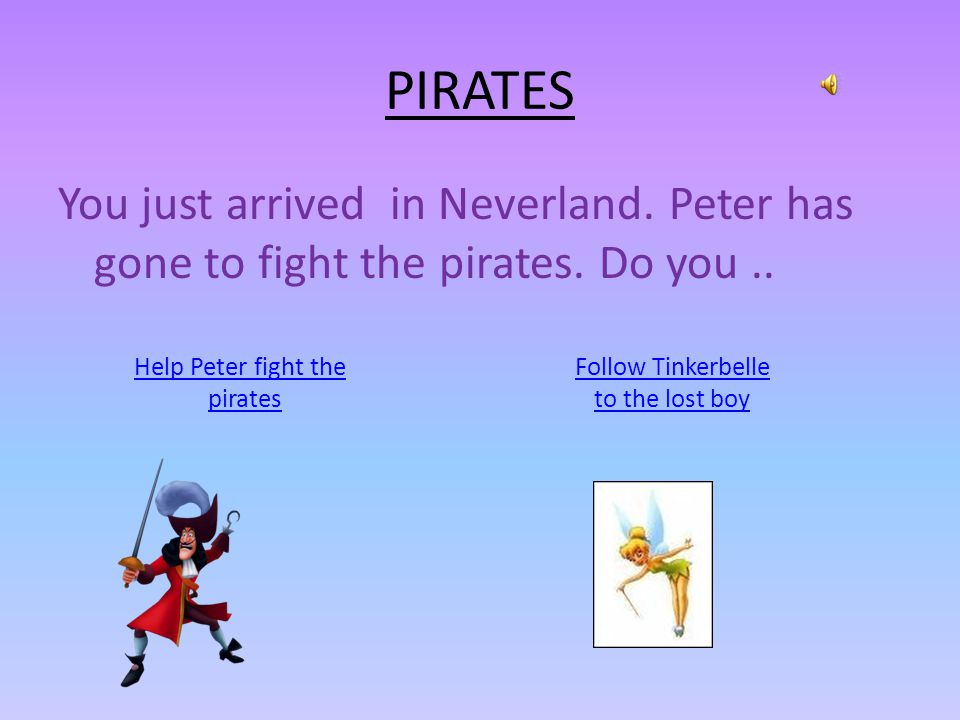 PETER PAN AND NEVERLAND By Liliana and Mariam