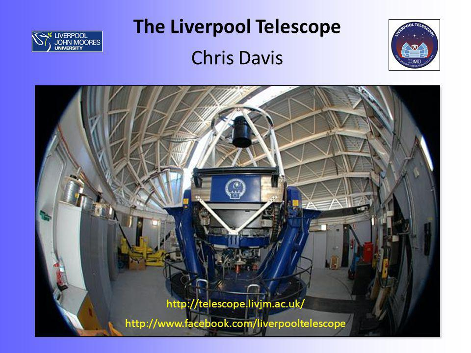 Telescope: Ritchey-Chretien; 2.0m primary/0.62m secondary; f/10 at cassegrain Alt-Az mount on hydrostatic bearings; slew rate 2 o /second; Alt range 25 o -87 o Through port clear aperture: 40 arcmin Autoguider: Allows closed-loop tracking (no tip-tilt capability at present) Guider field-of-view: 224 arcsec Can specify cardinal sky angles (0,90,180,270) or specific angle in phase2 GUI.