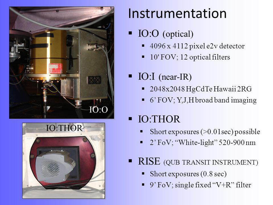 Instrumentation  FRODOspec  12x12 lenslet fibre-fed IFU  R~2500/5500; 400 <  < 940nm FRODOspec  Dual (red & blue) beams observed simultaneously  0.82 arcsec/pixel  FoV ~ 9.8 arcsec