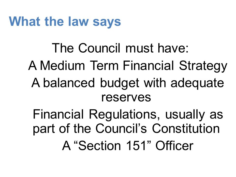 The Capital Programme Project based Prudential Indicators Has the MTFS picked up the revenue implications?