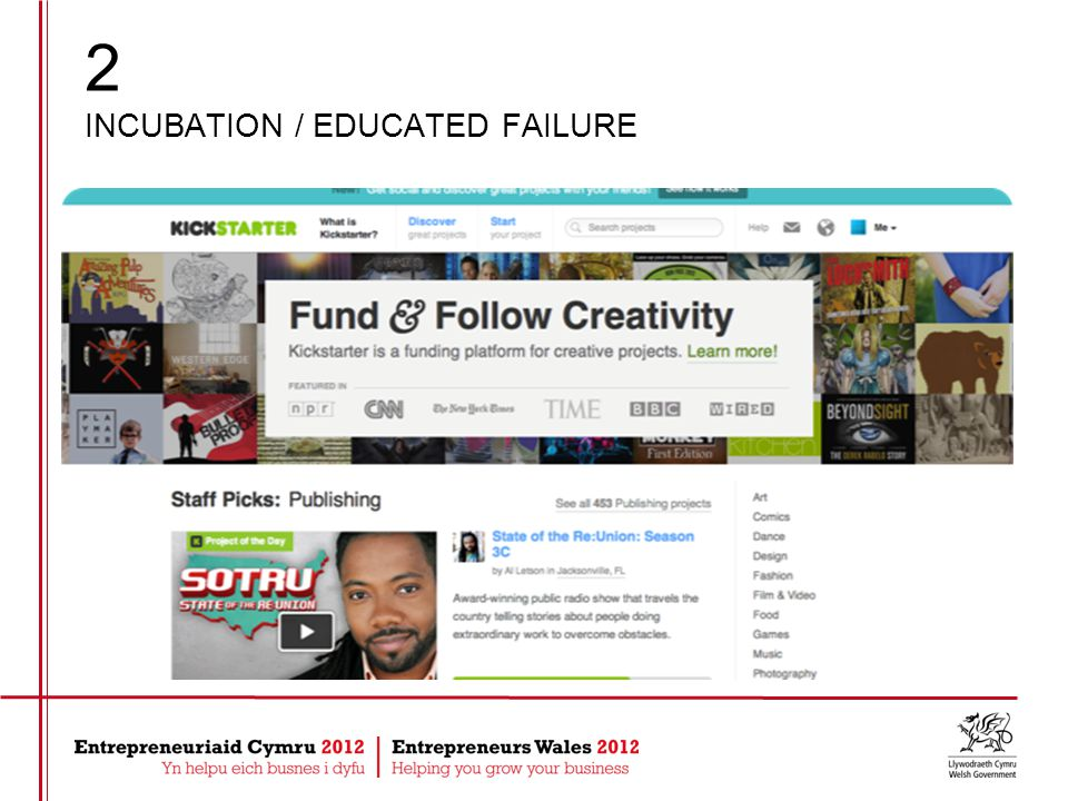 2 INCUBATION / EDUCATED FAILURE