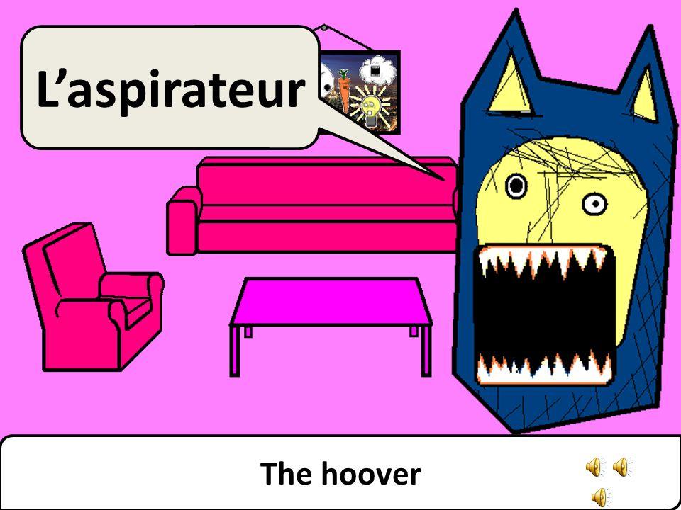 The hoover L'aspirateur