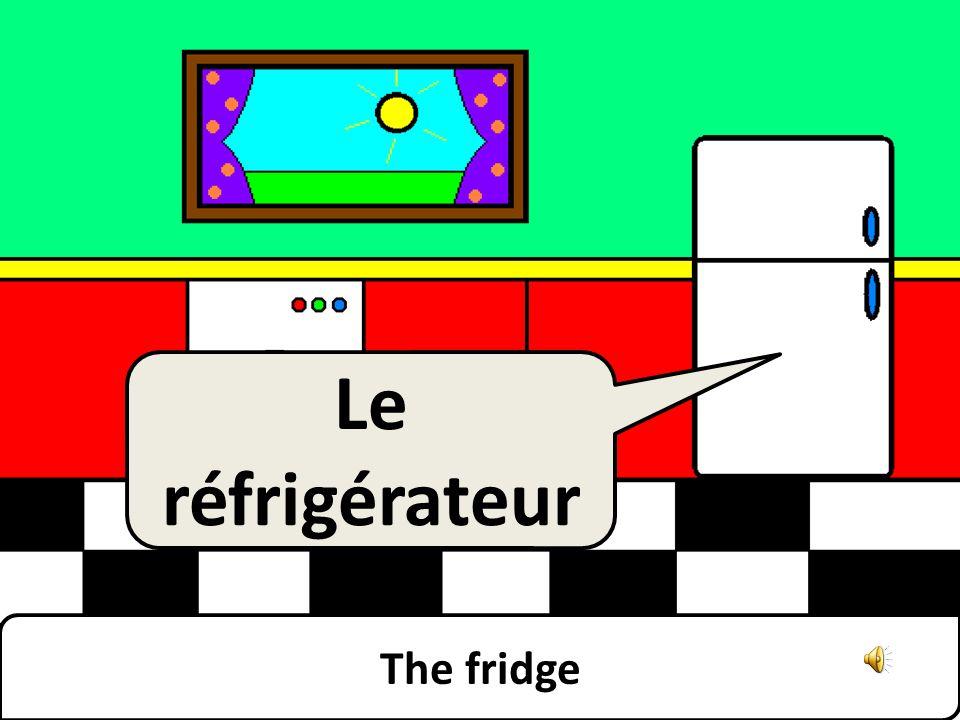 The fridge Le réfrigérateur